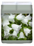 Flowers With Droplets 1 Duvet Cover
