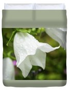 Flowers With Droplets 3 Duvet Cover