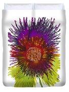 Flowerscape Thistle Duvet Cover