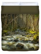 Flowing Duvet Cover