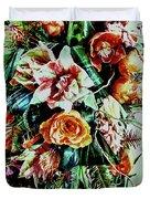 Flowing Bouquet Duvet Cover