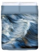Flowing River Water Duvet Cover