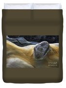 Flowing Rock 3 Duvet Cover