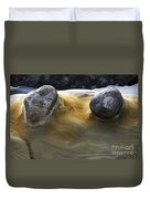 Flowing Rock 4 Duvet Cover