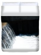 Flowing Water Of Life Duvet Cover