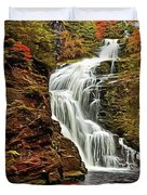 Flowing Waters Duvet Cover by Harry Warrick