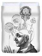 Fludds Mental Faculties, 1617 Duvet Cover