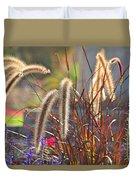 Fluffy Herbs Duvet Cover