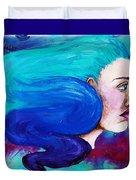 Fluid Delusion Duvet Cover