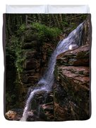 Flume Gorge Waterfall Duvet Cover