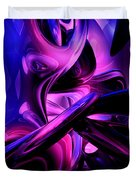 Fluorescent Passions Abstract Duvet Cover