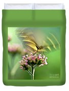 Fluttering Butterfly Duvet Cover by Heiko Koehrer-Wagner