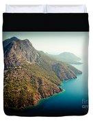 Fly Above Laguna Seascape Artmif.lv Duvet Cover