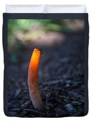 Fly And Stinkhorn Duvet Cover