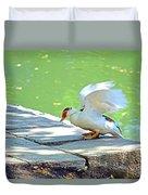 Fly Away Duck Duvet Cover