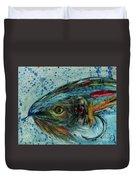 Fly Fishing Duvet Cover