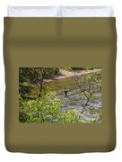 Fly Fishing Duvet Cover