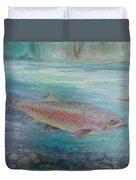 Flyfishing Duvet Cover