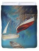 Flying Boats Duvet Cover