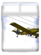 Flying By Wire 4 Of 6 Duvet Cover