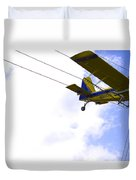 Flying By Wire 5 Of 6 Duvet Cover