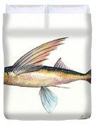 Flying Fish Duvet Cover
