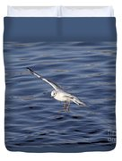 Flying Gull Duvet Cover by Michal Boubin