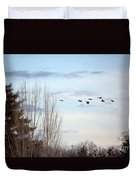 Flying North Duvet Cover