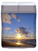 Flying Onshore Two Duvet Cover