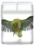 Flying Parrot  Duvet Cover