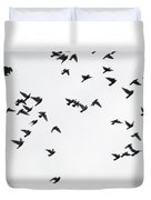 Flying Pigeons Duvet Cover