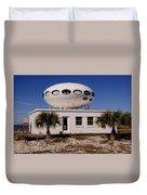 Flying Saucer House Duvet Cover