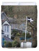 Flying The Flag For Cornwall Duvet Cover