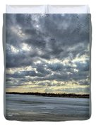 Flying Through Sun Rays 4 Duvet Cover