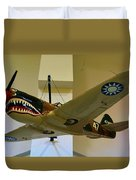 Flying Tigers Aircraft Duvet Cover