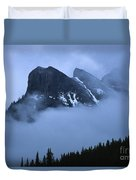 Fog And Clouds Duvet Cover