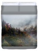 Fog And Color. Duvet Cover