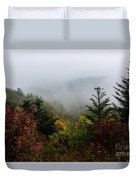 Fog And Drizzle. Duvet Cover by Itai Minovitz