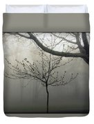 Fog In Shenandoah Duvet Cover