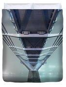 Fog - Millennium Bridge Duvet Cover