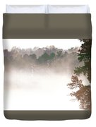 Fog On The Lake Duvet Cover