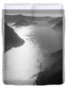 Fog Over The Iseo Duvet Cover