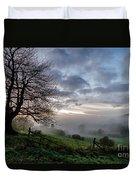 Fog Rolled In Duvet Cover