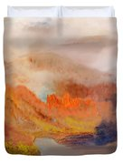 Foggy Autumnal Dream Duvet Cover