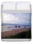 Foggy Coast Duvet Cover
