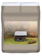 Foggy Fall Color Duvet Cover