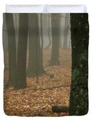 Foggy Forest  Duvet Cover