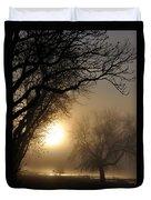 Foggy Morn Duvet Cover