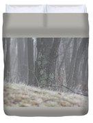 Foggy Moss Duvet Cover