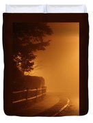 Foggy Night In White Plains Ny 2006 04 Duvet Cover